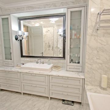 Широкий ассортимент мебели для ванных комнат