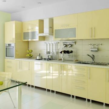 Теплые и уютные цвета на кухне