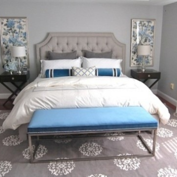 Элементы интерьера спальни