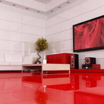 Стиль hi-tech и гостиная-студия