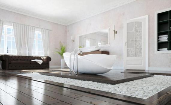 Идеи для внутренней отделки ванной