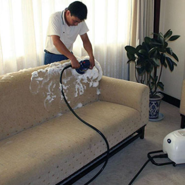 Профессиональная чистка мягкой мебели на дому