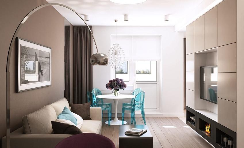 Оформляем современный дизайн в гостиной комнате