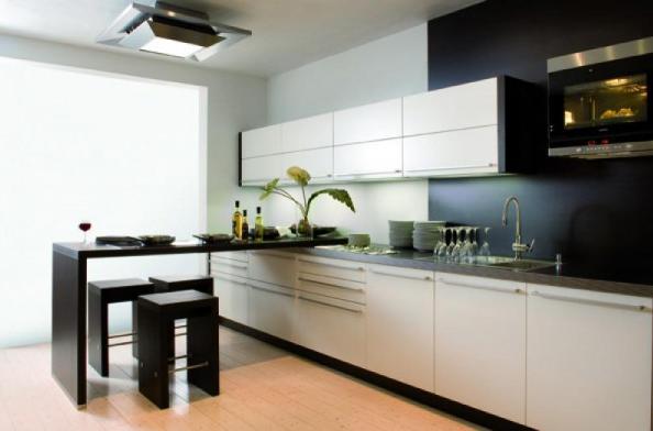 Барные стойки на современных кухнях