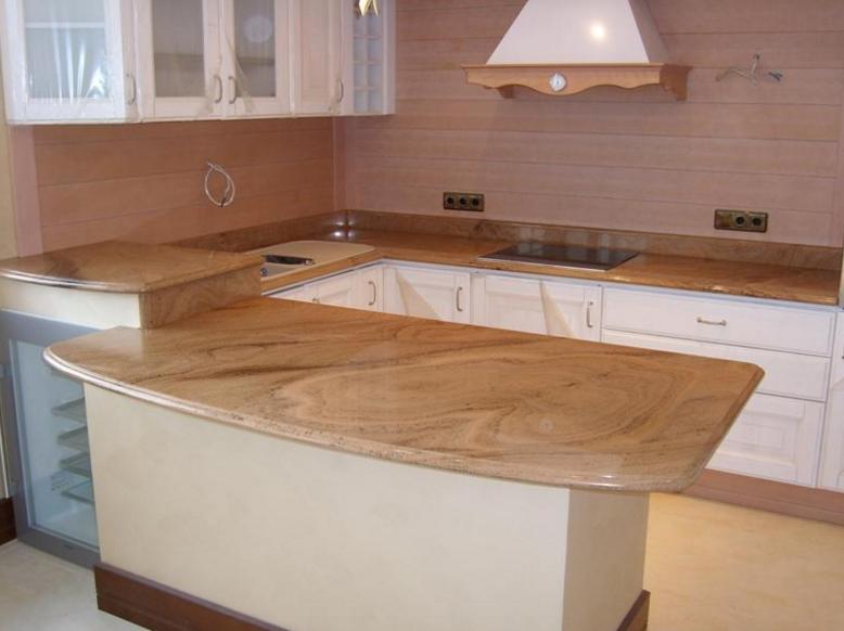 Кухонные столешницы из мрамора