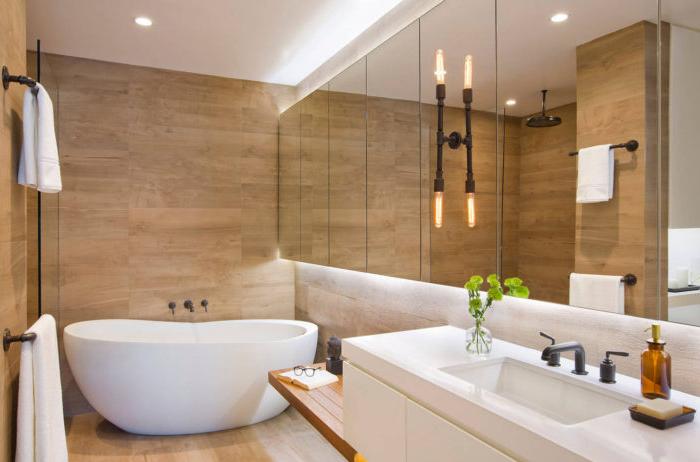 Этапы реализации дизайна ванной комнаты