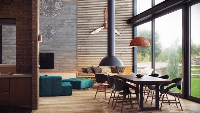 Мебель в стиле лофт — это практично