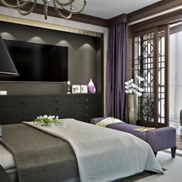 Мебель для спальни в стиле арт-деко