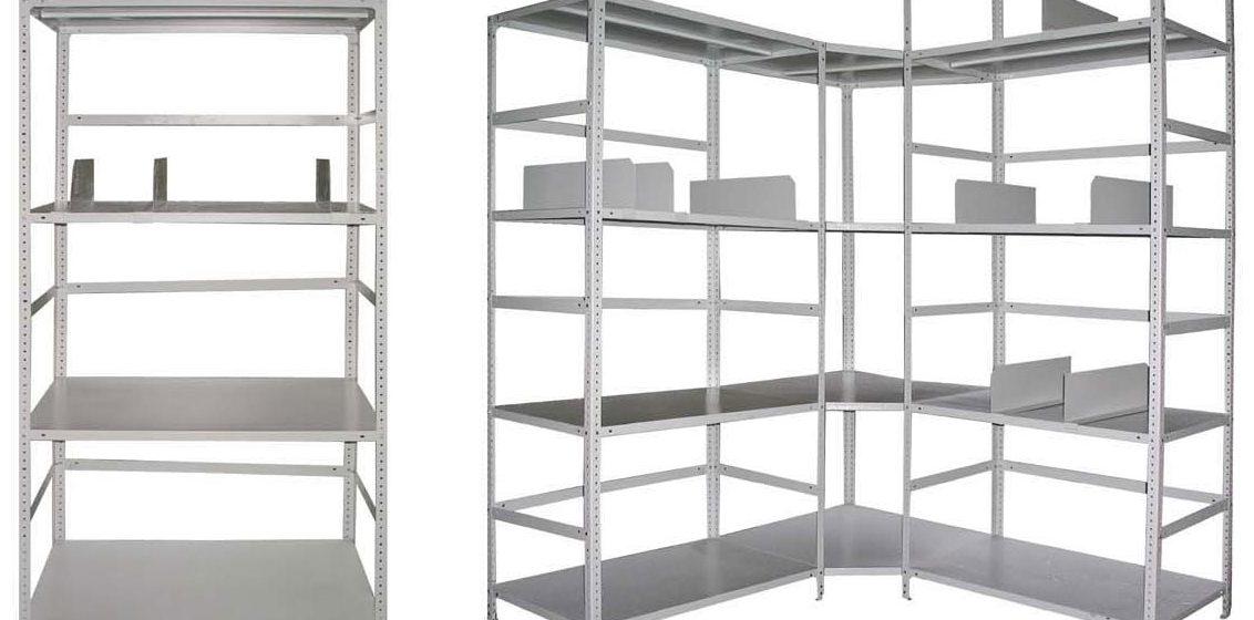 Металлические стеллажи: практичная и функциональная мебель