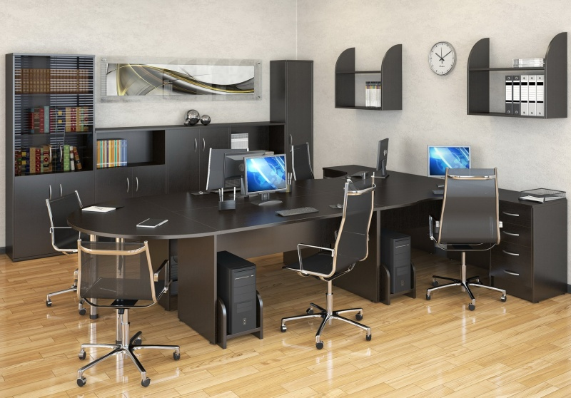 Стильная и функциональная офисная мебель