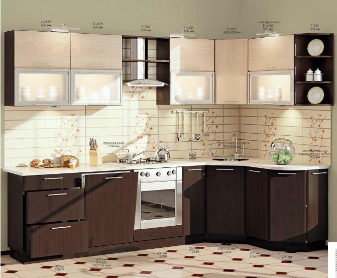 Из каких материалов делают кухни на заказ
