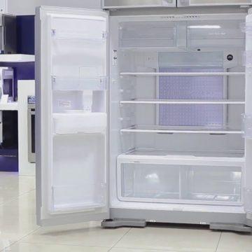 Двухдверные холодильники «Хитачи»