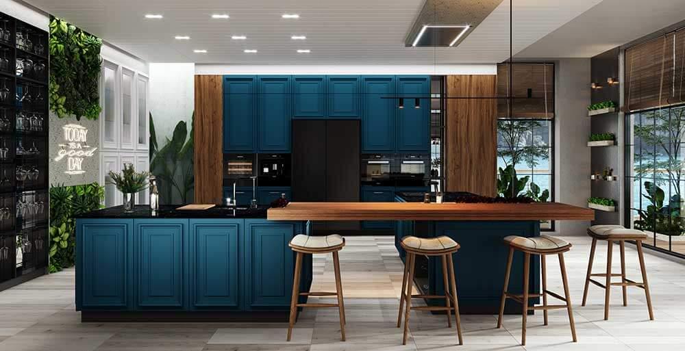 Этапы производства кухонной мебели