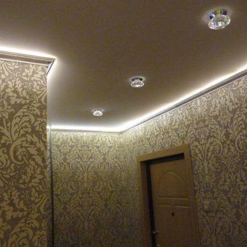 Дизайн освещения потолка в квартире