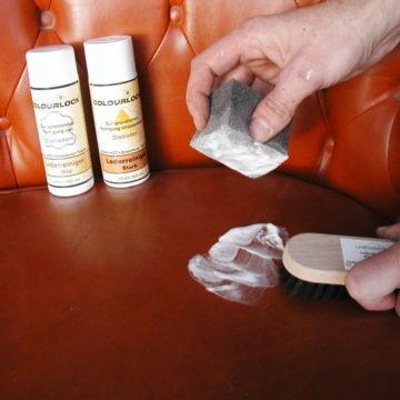 Как технологии применяются при ремонте кожаной мебели?