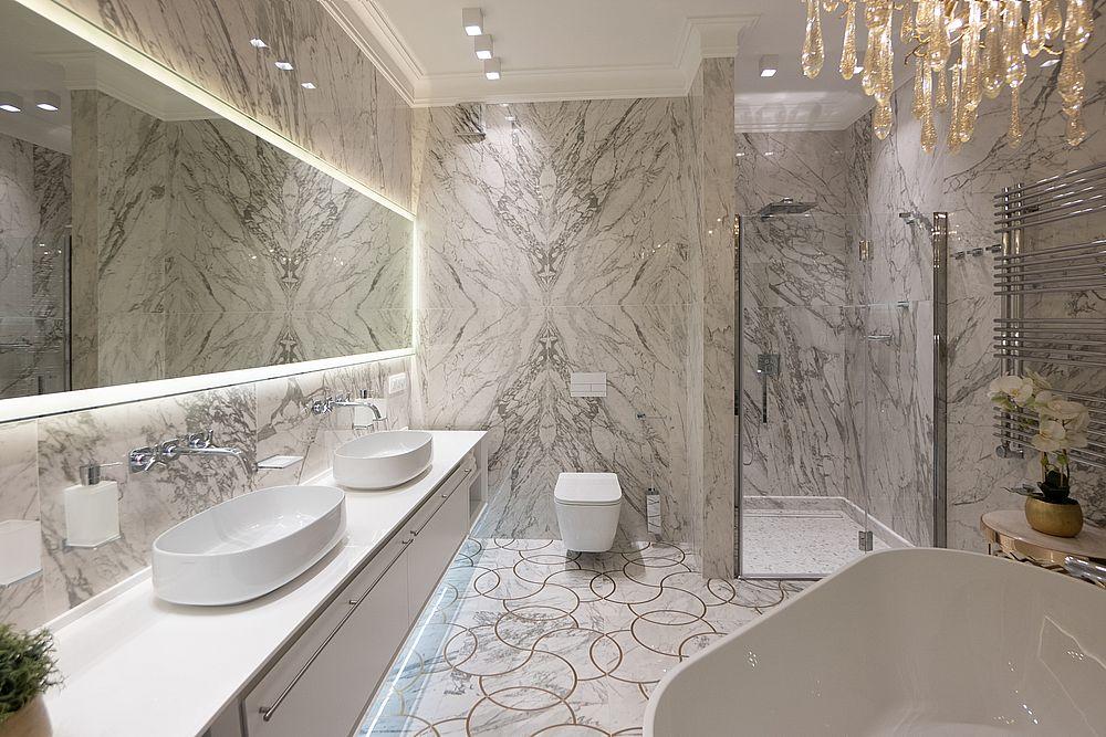 Мебель из керамогранита для ванных комнат